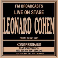 Live On Stage Fm Broadcast-Kongresshaus, 21St May 1993