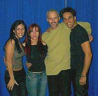 Miguel Bose and Ana Torroja