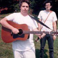 Jad Fair and Daniel Johnston