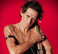 Keith Richards and The Ex-Pensive Winos